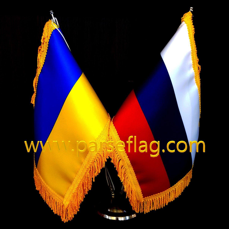 پرچم رومیزی دوقلو